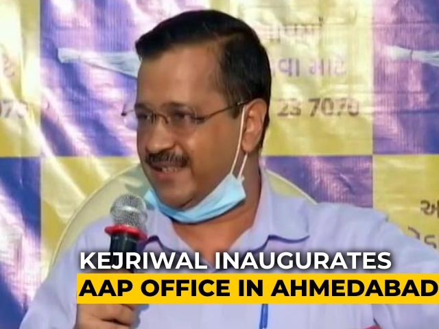 Video : AAP Will Contest All Seats In Gujarat Assembly Polls Next Year: Arvind Kejriwal