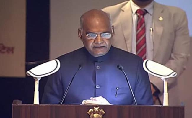 Months Before UP Election, President Lays Foundation Stone For Ambedkar Memorial