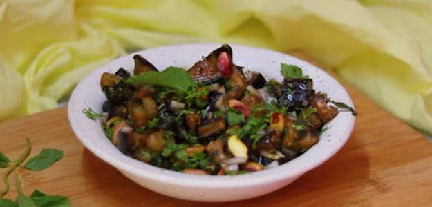 Watch: Ever Heard Of Baingan Chaat? Try This Low-Carb Recipe And Tantalise Your Tastebuds