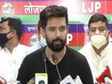Video : Continuous Efforts By Janata Dal United, Others To Break Up Lok Janshakti Party: Chirag Paswan