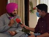 """Video : """"Who Is Amarinder Singh..."""": Navjot Singh Sidhu Amid Punjab Congress Infighting"""