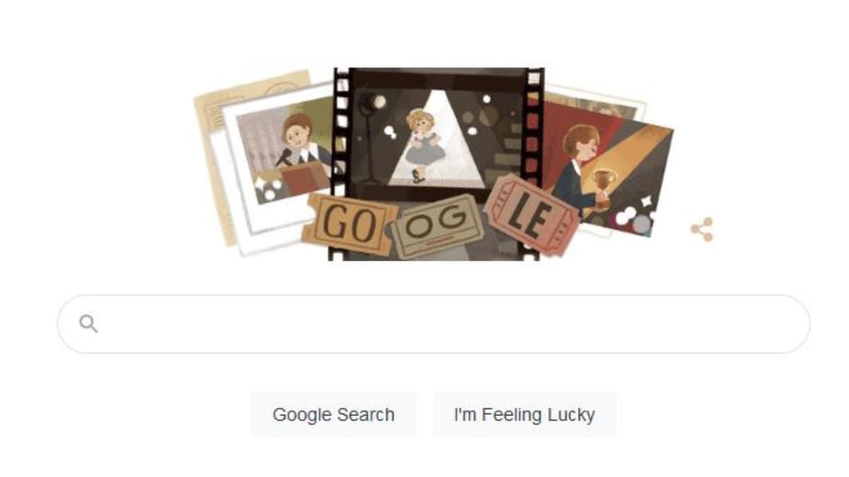 6 साल की उम्र में ऑस्कर जीतने वाली Shirley Temple को Google ने Doodle के जरिए किया याद
