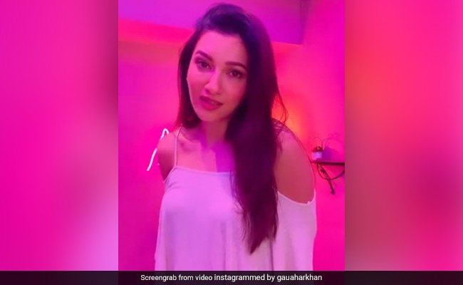 Gauahar Khan Is Grooving To This Salman Khan Song. See Here
