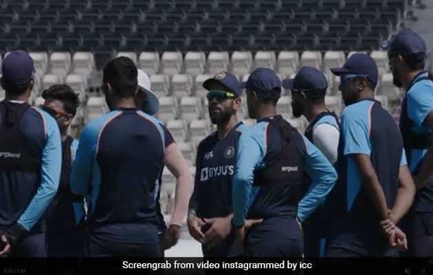 "Watch: Team India ""Fine-Tune"" Their Skills Ahead Of WTC Final"