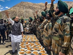 Indian Army Can Give Befitting Reply To All Challenges: Rajnath Singh In Ladakh