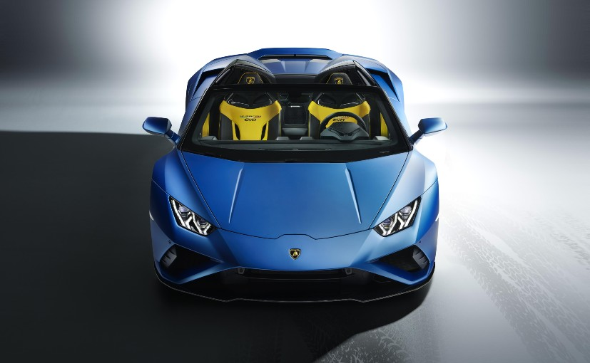 The Lamborghini Huracan EVO RWD Spyder will join the RWD Coupe already on sale here