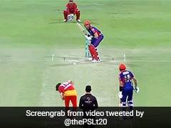 PSL 2021: लड्डू गेंद पर बोल्ड हुए मार्टिन गुप्टिल, आउट होने के बाद ऐसे दिखाया गुस्सा - देखें Video