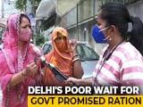 Video : Delhi's Poor Battle Hunger