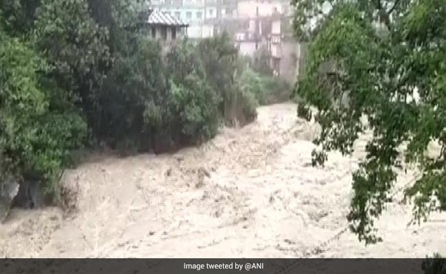 Rivers Ganga, Bhagirathi Cross Danger Mark After Heavy Rains In Uttarakhand