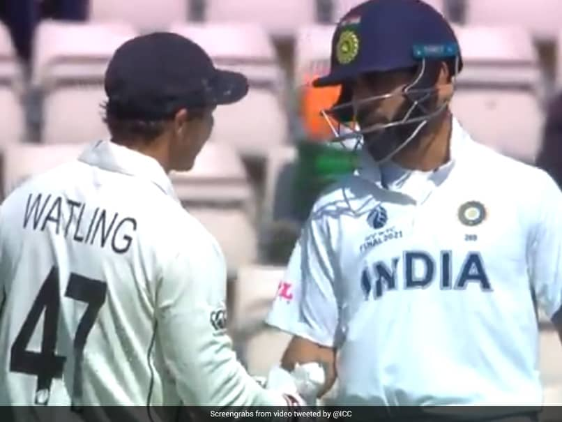 India vs New Zealand, Reserve Day: Fans Hail Virat Kohli's Gesture For BJ  Watling On His Last Day In Tests. Watch | Cricket News