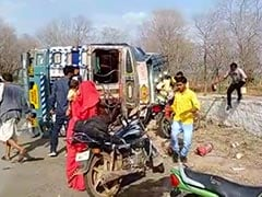 Watch: Tanker Overturns, Driver Injured But Villagers Busy Looting Petrol