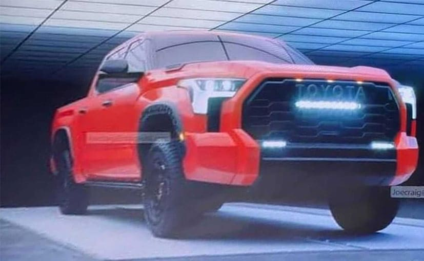 2022 Toyota Tundra's Images Leaked Ahead Of Global Debut