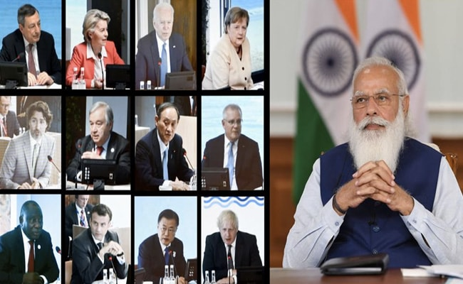 Cyberspace Must Foster, Not Curb, Democratic Values: PM Modi At G7 Summit