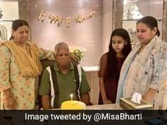 लालू यादव ने दिल्ली में मनाया जन्मदिन, बेटी मीसा ने लिखा- पापा ही जहां हैं, CM नीतीश ने भी यूं दी बधाई