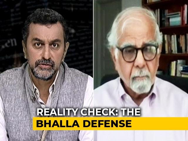 Video : Economy Vs Virus:  IMF Executive Director Dr Surjit Bhalla Exclusive