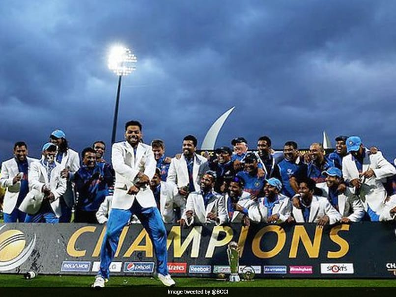 """""""Amazing Spin"""": Stuart Broad Reacts As ICC Revisits Indias 2013 Champions Trophy Triumph"""