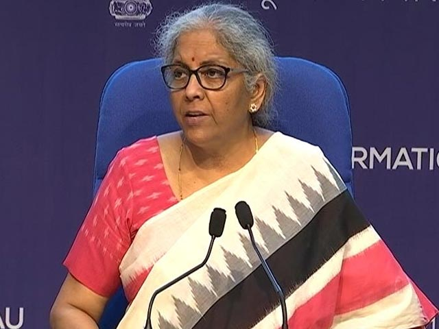 Video : Credit Line, Loan Guarantee: Nirmala Sitharaman Announces Relief Measures