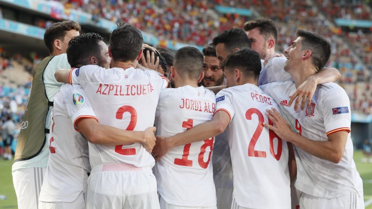 Euro 2020: Spain beat Slovakia 5-0 in the round of 16 |  Football news