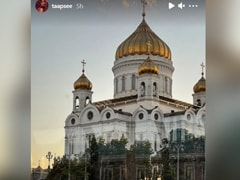"""""""Wait, What! Bangla Sahib?"""": Taapsee Pannu's Epic Reaction After Seeing This Monument In Moscow"""