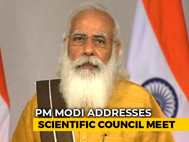 Video : PM Modi Lauds Scientists For Made-In-India Covid Vaccine In A Year