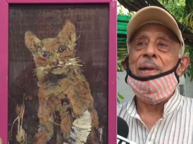 Video : मध्य प्रदेश का यह कलाकार फूल, पत्तियों और पेड़ की छालों से बनाता है खूबसूरत पेंटिंग