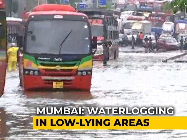 Video : Monsoon Arrives, Heavy Rains Lash City, Waterlogging In Several Areas
