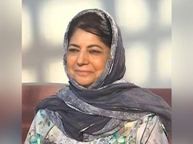 """Video : """"Since Article 370 Scrapped, New Orders Every Day,"""" Says Mehbooba Mufti"""