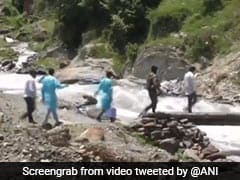 Watch: Army Team Hikes Through River, Hill To Vaccinate J&K Village Along Line of Control