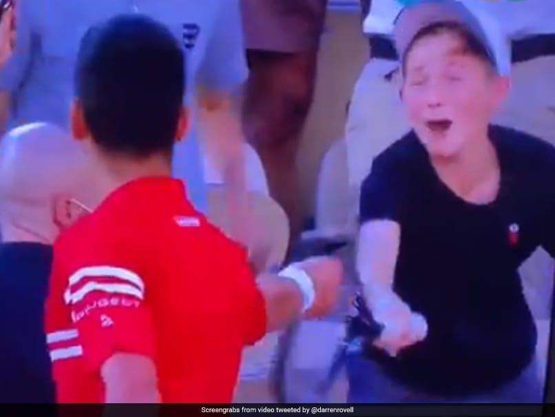 Watch: Young Fan In Disbelief As Novak Djokovic Gives Him His Racquet After Winning French Open