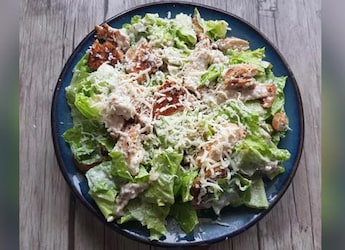 Watch: Make Classic Chicken Ceasar Salad At Home With This Easy Recipe