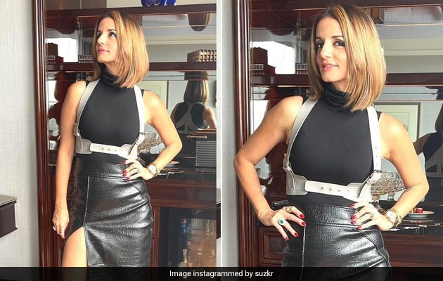 Sussanne Khan Can't Get Over Her 'Edgy' New Look And Neither Can We
