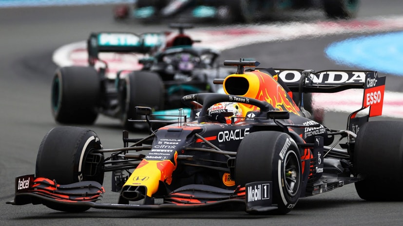 Verstappen now leads the world championship by 12 points