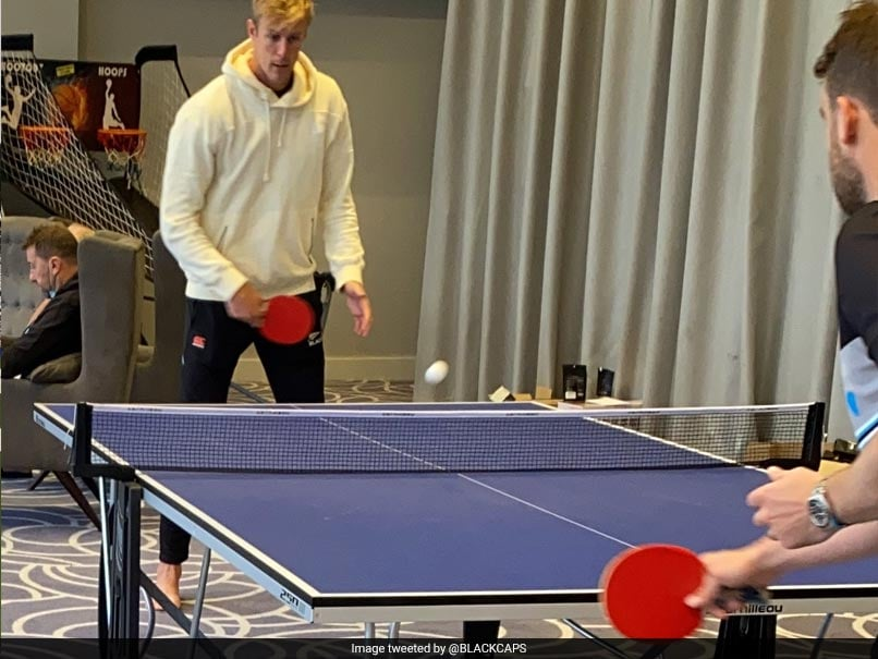 Photo of WTC Final: Kyle Jamieson Plays Table Tennis As Wet Weather Delays Start On Day Four