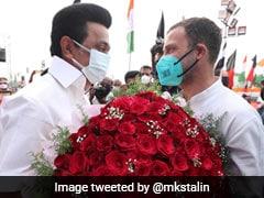 "MK Stalin Greets ""Beloved Brother"" Rahul Gandhi On His Birthday"
