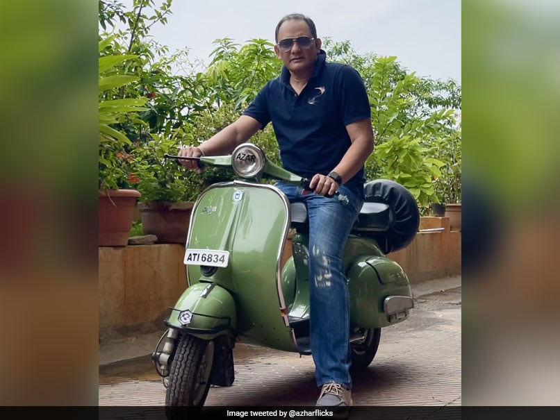 """Mohammed Azharuddin Gets Nostalgic, Shares Pictures Of His Scooter From """"Early Career Days"""""""