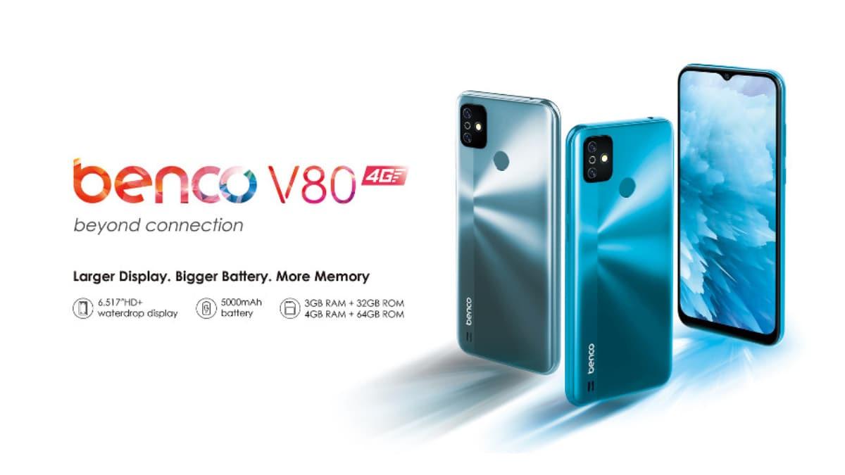 5,000mAh बैटरी के साथ Benco V80 स्मार्टफोन लॉन्च, जानें कीमत और खूबियां