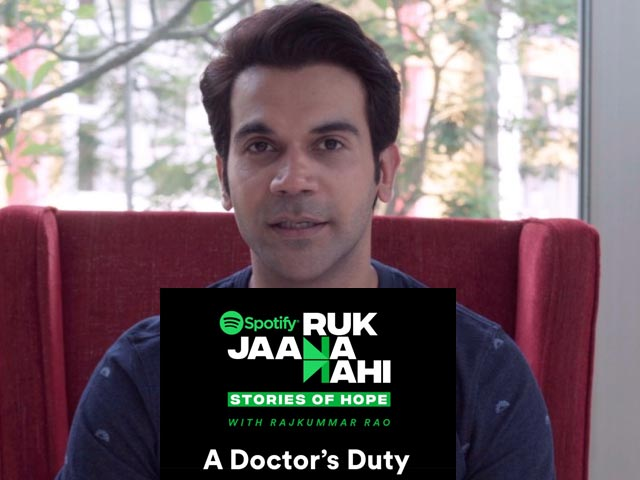 Video : <i>Ruk Jaana Nahi</i>: An Initiative By Spotify To Unveil Stories Of Hope