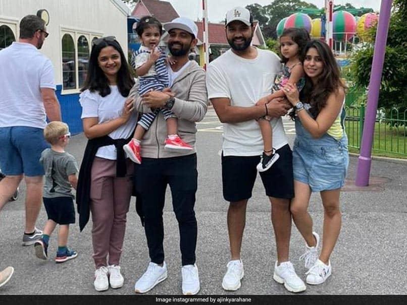 Babys Day Out: Ajinkya Rahane, Rohit Sharma Enjoy Outdoor Time With Their Kids
