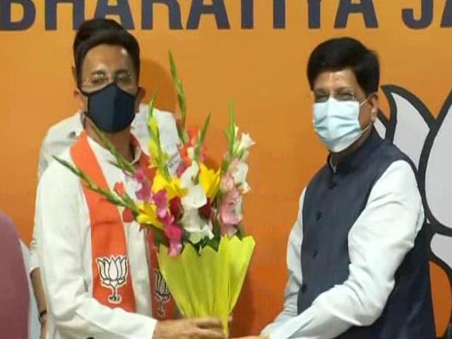 Video : Jitin Prasada, Once Close To Rahul Gandhi, Joins BJP Ahead Of UP Polls