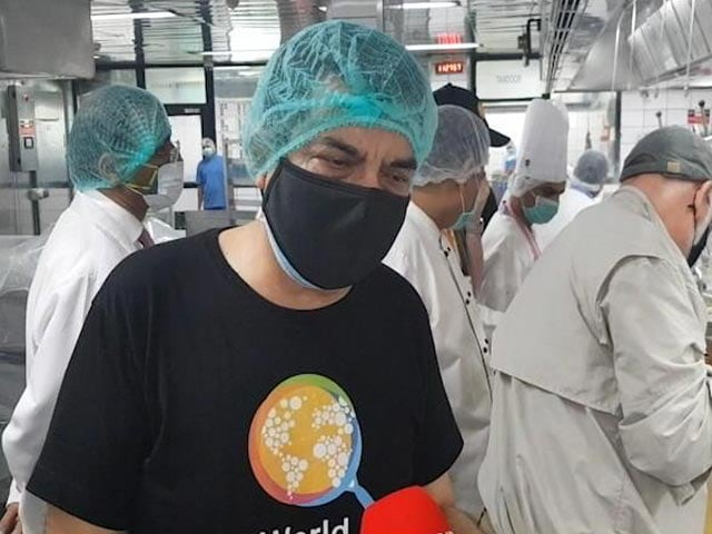 Video : Tata Group, Chef Sanjeev Kapoor Come Together To Provide Meals To Healthcare Workers