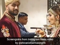 Viral Video: Bride Makes Groom Long For Mouth-Watering Pani Puri