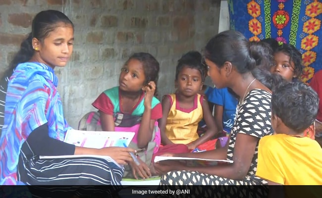 How Tamil Nadu Village's Only Graduate Helps As Schools Shut Amid Covid