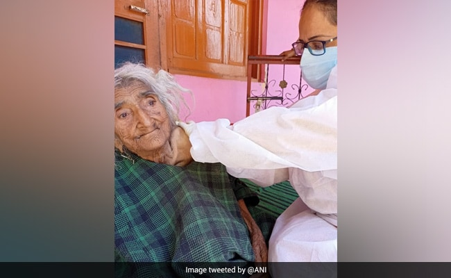 124-Year-Old Woman Administered Covid Jab In Jammu & Kashmir: Officials