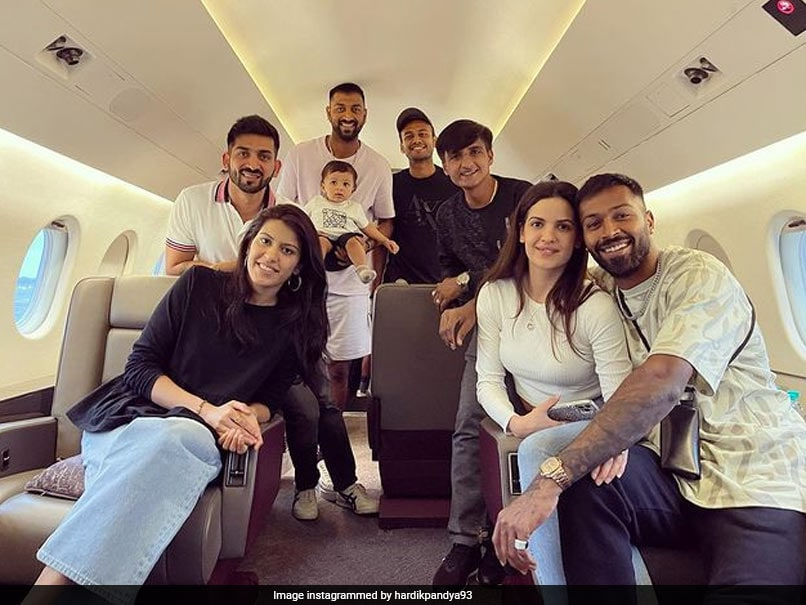 """Hardik Pandya Shares Photo Of Him """"Chilling In The Clouds"""". See Pic"""