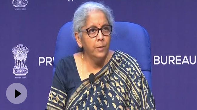 Video | GST Rate Cut For Most Covid Related Goods, Says Nirmala Sitharaman