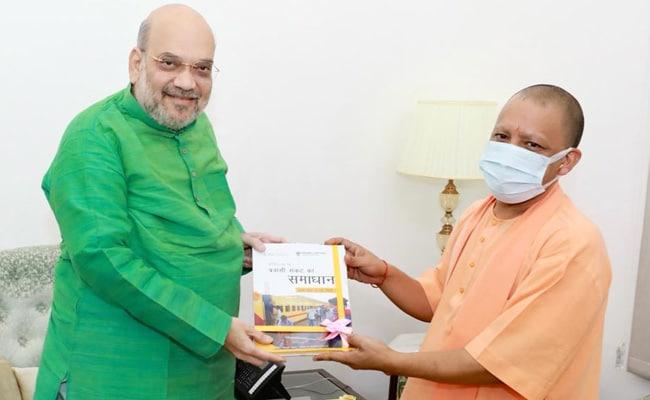 Yogi Adityanath Visits Amit Shah, To Meet PM Tomorrow Amid UP Turmoil
