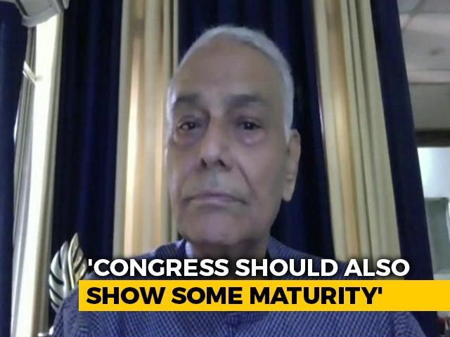 """Video : """"Opposition Coming Together To Defeat BJP"""": Yashwant Sinha To NDTV"""