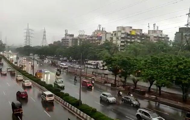 Pics: Monsoon Arrives In Mumbai, Heavy Rain, Waterlogging In Several Areas