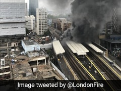 15 Fire Engines Tackle Blaze At London Industrial Units Near Thames