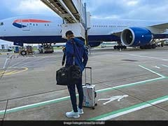 """""""Touchdown"""": KL Rahul Posts Pic After Team India Arrives In London"""